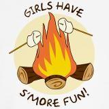 GIFT: girls have s'more fun tee shirt