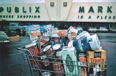 Publix Market, circa 1969, in a Sperry and Hutchinson (S&H Green Stamps) promotional photo