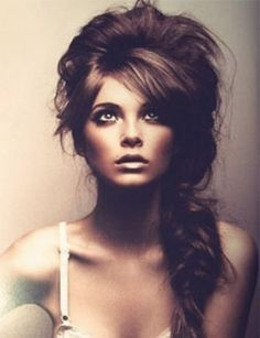 Bridal hair inspiration | Madison  Freaking love this hair style! I wish I would of had my hair done up like this.