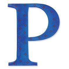 Buchstabe / Letter - P