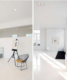 Downlights, Office Desk, Interior, Green, Furniture, Home Decor, Desk Office, Decoration Home, Desk