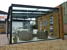 Image result for glass patio canopy