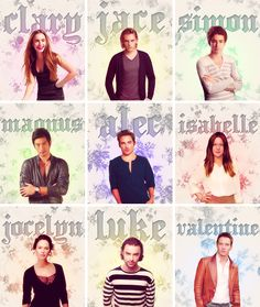 City of Bones cast-clary=ok, jace=D: , simon=ehh.., magnus=magnus is asian say what?, alec=hot, but not innocent looking enough, isabelle=no, just no, jocelyn=PERFECTLY AS I IMAGINED HER, luke=ehh, valentine=NO.