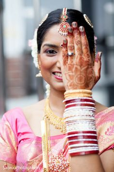 An Indian bride gets ready for her wedding day! Mehndi Photo, Mehndi Designs, Bridal Jewelry, Wedding Day, Wedding Photography, Photoshoot, Indian, Artists, Draping