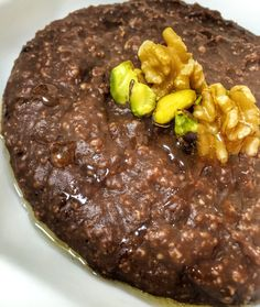 Mingau de chocolate - Blog Fit Food Ideas