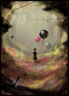 ✯ Dreamy Forest :: Artist Xavier Collette ✯