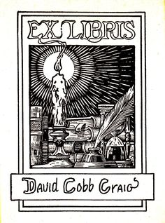 Bookplate - David Cobb Craig