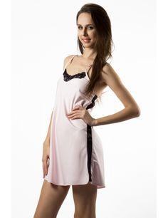 Zega Store - Pijamale Mushroom, culoarea roz pal - Femei, Pijamale Cold Shoulder Dress, Lingerie, Dresses, Fashion, Gowns, Moda, Fashion Styles, Dress, Vestidos