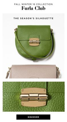 8e0d902f8d80 Discover the Season s Silhouette browse the latest collections of Furla  Club Crossbody Oliva