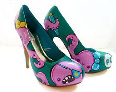 octopus shoes ...different