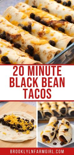 Oven Baked Tacos, Make Taco Seasoning, Vegetarian Recipes, Cooking Recipes, Healthy Recipes, Black Bean Tacos, Fresh Tomato Salsa, Homemade Seasonings, Cooking Black Beans