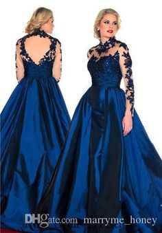 Plus Size Party Cocktail Dresses Black Red Satin Floor Length 2015 Plus Size Special Occasion Dresses High Neck Sheer Long Sleeve Key Hole Applique Evening Prom Dresses Mm Stylish Plus Size Clothing From Marryme_honey, $153.62| Dhgate.Com