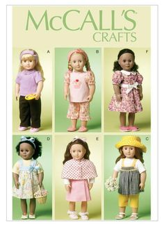 Dolls & Toys | Page 2 | McCall's Patterns