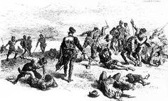 """Massacre of the Huguenots from """"A French Huguenot Legacy"""" by Kansas Writer, Debra Guiou Stufflebean"""