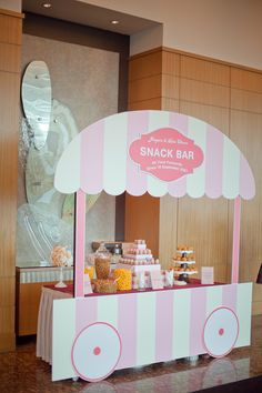 A candy bar with a difference, inspired by an old fashion ice cream booth. www.elysiumweddings.net