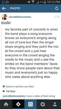 this happened at a twenty one pilots concert i was at and it was amazing