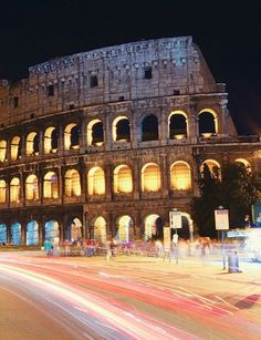 Bucket list item: see the historic sights of Rome, Italy.