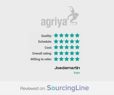 """A reputed 5 star review from Joedemartin, Iran, shares about Agriya's services  """"Agriya did a great job on the project. They have great client relationship managers and provide good service""""  For more detailed review: http://www.sourcingline.com/review/iranian-marketing-firm-web-development"""