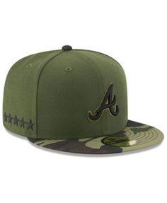 buy online e5dcb d95bb New Era Atlanta Braves Memorial Day 59FIFTY Cap - Green 7 1 8 Atlanta Braves