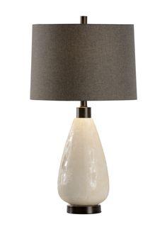 Wildwood  Kelsey Lamp Vanilla White  46977