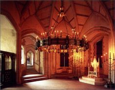 Tower of London. throne room