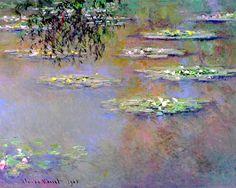 Claude Monet. Water lilies (1903).