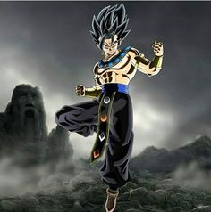 Vegito dressed as a God of Destruction
