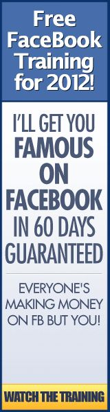 "This FREE 86 Minute Webinar is the ONLY ""Fully-Loaded FaceBook® Training"" You Will EVER Need, Take You Step-by-Step, and Teach You EVERYTHING You Must Know to Make Money on FaceBook® Like the ""Gurus"" Starting Today!"