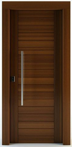 Are you looking for best wooden doors for your home that suits perfectly? Then come and see our new content Wooden Main Door Design Ideas. Flush Door Design, Home Door Design, Wooden Main Door Design, Bedroom Door Design, Door Design Interior, Front Door Design, Interior Modern, House Design, Loft Design