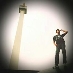 Photo taken in front of The National Monument (Monas) Jakarta, Indonesia