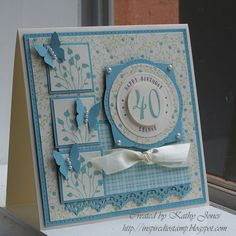 SFYTT Butterfly 40th by Wattle - Cards and Paper Crafts at Splitcoaststampers