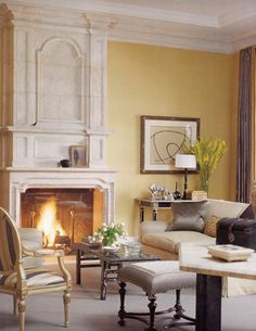 Gorgeous Living Room by Richard Hallberg and Barbara Wisely, Interior Design