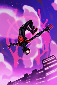 Oh, Just an Into the Spider-Verse Tribute Art Show by Babs Tarr Marvel Comics, Marvel Art, Marvel Heroes, Marvel Avengers, Rogue Comics, Captain Marvel, Amazing Spiderman, Spiderman Art, Miles Morales Spiderman