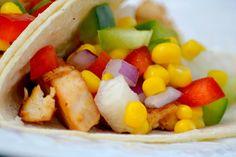 Fiery Chicken Tacos
