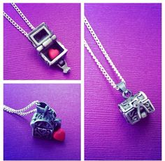 Heart In Chest Working Locket Charm Necklace Evil Queen Regina Mayor Mills Rumpelstiltskin Once Upon A Time Inspired Necklace…