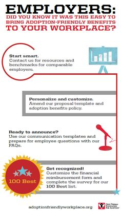 Bring adoption-friendly benefits to your workplace.