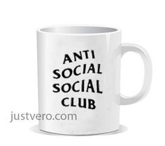 anti social club Ceramic Mug