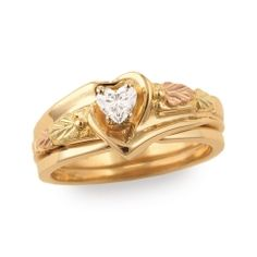 Black Hills Gold - Lady's Gold Wedding Set