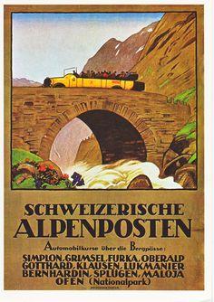 Bildergebnis für die alpenpost poster