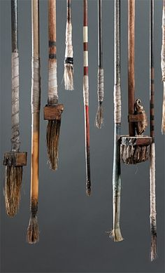 see all http://www.pinterest.com/annsymes7/assemblage-and-collections/ Ron Pippin