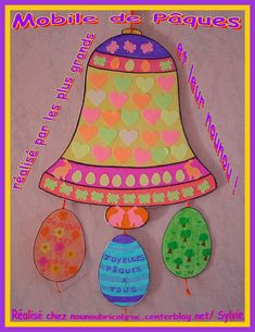 Mobile de Pâques *6* réalisé par les enfants...