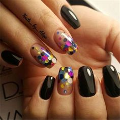 Diy nails 555420566543942876 - Mixed Color Ultrathin Sequins Nail Glitter Flakes Sparkly DIY Tips Dazzling Paillette Nail Art Decorations Source by roxanachavezn Glam Nails, Glitter Nails, Cute Nails, Pretty Nails, My Nails, Confetti Nails, Thin Nails, Nail Decorations, Creative Nails