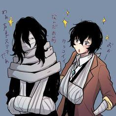 Dazai Bungou Stray Dogs, Stray Dogs Anime, Anime Demon, Manga Anime, Anime Art, Fanarts Anime, Anime Characters, Another Anime, Dazai Osamu