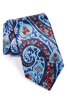 Ermenegildo Zegna Woven Silk Tie at Nordstrom.com. Rich, intricate paisley marks a handsome tie cut from pure silk.
