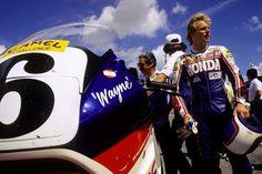 Rainey & VFR 750 F.  Daytona 1987