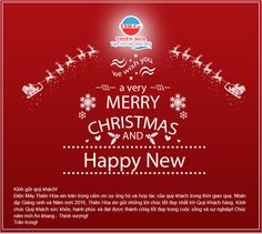 Chúc quý khách và quý đối tác Giáng Sinh an lành, ấm áp và tràn ngập niềm vui