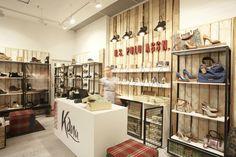 Kanu store by Tomas Jasiulis, Vilnius   Lithuania store design