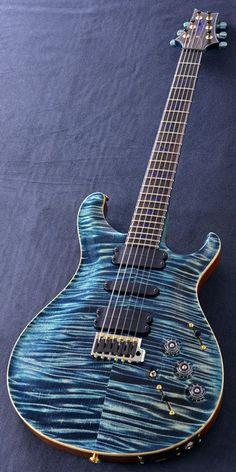 Paul Reed Smith PrivateStock #3614Custom24 Blue Fade
