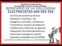 Electricistas Benifairo de la Valldigna 603 932 932 Baratos