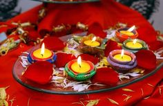 Happy Diwali Diya Images 2017 - Diwali Diya Decoration Ideas With Image Diwali Candles, Diwali Lights, Diya Decoration Ideas, Diwali Decorations, Decor Ideas, Diwali Diya, Diwali Craft, Diwali 2012, Happy Diwali 2017